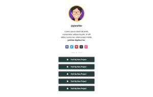 Social Bio Link Page Design 04