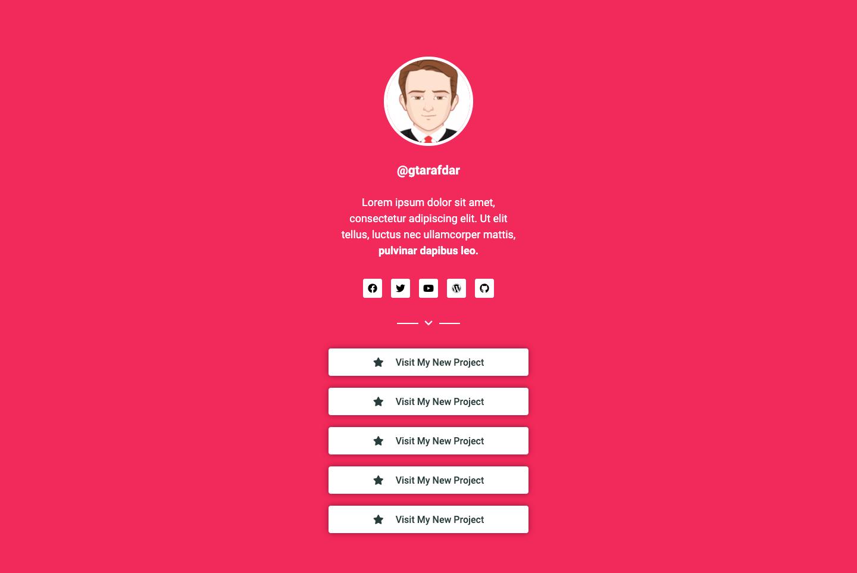 Social Bio Link Page Design 03 (1)